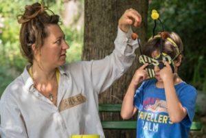 SUMM - Eine Abenteuerreise ins Bienenland - Bienenmaske basteln