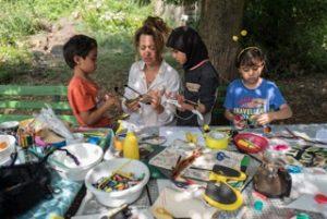 SUMM - Eine Abenteuerreise ins Bienenland - Bastelrunde